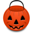 Pumpkin Bucket Icon