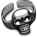 128x128px size png icon of Skull Ring