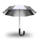 Umbrella Graphite Icon