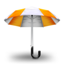 Umbrella Orange Icon