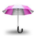 Umbrella Pink Icon