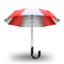 Umbrella Red Icon