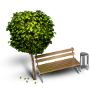 128x128px size png icon of Bench