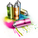 128x128px size png icon of Spray