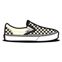 Vans Checkerboard Dirty White Icon