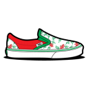 128x128px size png icon of Vans Flower