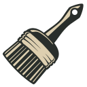 128x128px size png icon of Brush 5