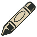 128x128px size png icon of Crayon 2