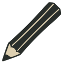 128x128px size png icon of Crayon