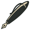 128x128px size png icon of Ink Pen