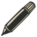 128x128px size png icon of Marker 2
