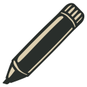 128x128px size png icon of Marker