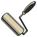 128x128px size png icon of Paint Roll