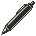 128x128px size png icon of Patent Pen