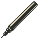 128x128px size png icon of Technical Pen