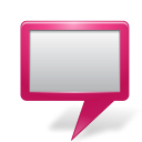128x128px size png icon of Map Marker Board Pink
