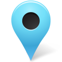 128x128px size png icon of Map Marker Marker Outside Azure