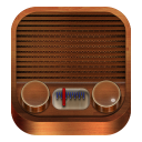 128x128px size png icon of Radio