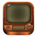 128x128px size png icon of TV Old