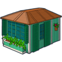 128x128px size png icon of home 1