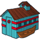 128x128px size png icon of home 2