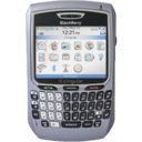 128x128px size png icon of BlackBerry 8700c
