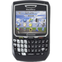 128x128px size png icon of BlackBerry 8700r