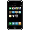 128x128px size png icon of Apple iPhone
