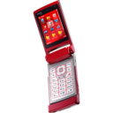Nokia N76 red Icon