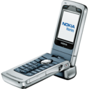 128x128px size png icon of Nokia N90 open