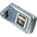 128x128px size png icon of Nokia N90 top