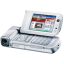 128x128px size png icon of Nokia N93 silver