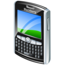 128x128px size png icon of blackberry