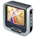 128x128px size png icon of gps