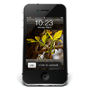 128x128px size png icon of iPhone Black W2