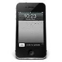 128x128px size png icon of iPhone Black iOS
