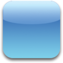 128x128px size png icon of Blue Blank