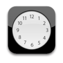 128x128px size png icon of Clock Blank