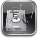 128x128px size png icon of Disk Utility