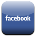 Facebook Button by givemegravity Icon