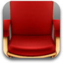 128x128px size png icon of Front Row