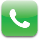 128x128px size png icon of Phone