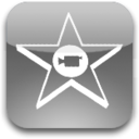 128x128px size png icon of iMovie 08