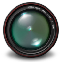 128x128px size png icon of Aperture 3 Authentic Green
