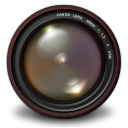 128x128px size png icon of Aperture 3 Authentic