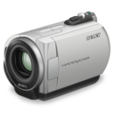 128x128px size png icon of sony handycam