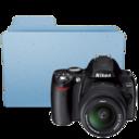 128x128px size png icon of Nikon D40 folder