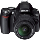 128x128px size png icon of Nikon D40