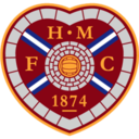 128x128px size png icon of Hearts FC