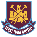 128x128px size png icon of West Ham United